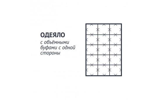 """Одеяло Silver c объемными буфами """"Коллекция 999"""""""